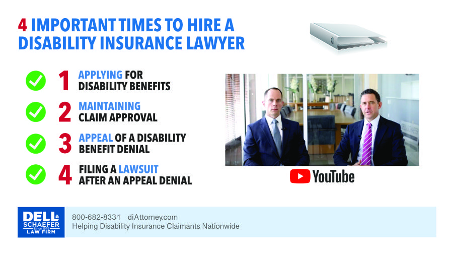 when to hire a disability insurance lawyer